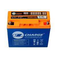 12 Volt 18 Amp Hour Battery Ozcharge AGM