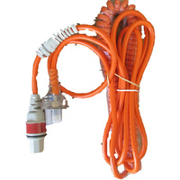 Mains Curly Power Lead