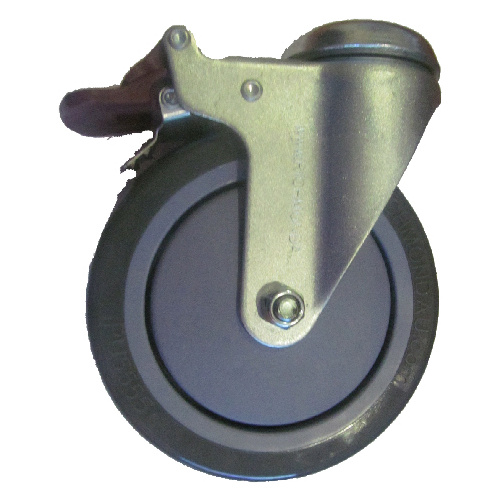 Bolt hole Braking Castor 150mm